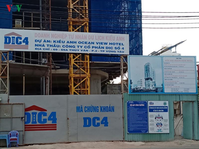 Dự án xây khách sạn 'khủng' ở Vũng Tàu phớt lờ thanh tra xây dựng - Ảnh 1