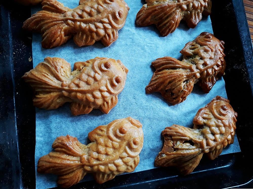 Tưởng không dễ mà dễ không tưởng: Làm bánh Trung Thu con cá đẹp lung linh! - Ảnh 6