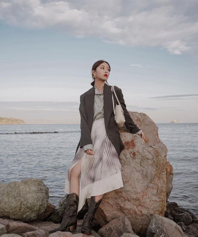 12 ý tưởng diện áo blazer + chân váy mãn nhãn đến nỗi bạn cũng phải xuýt xoa trước diện mạo của chính mình - Ảnh 9