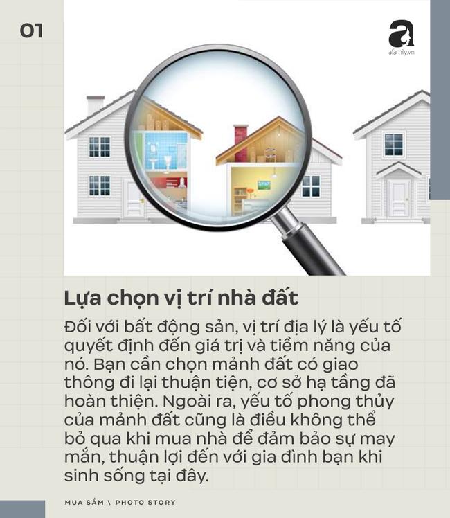 7 kinh nghiệm mua bán nhà đất bạn cần đặc biệt chú ý - Ảnh 1