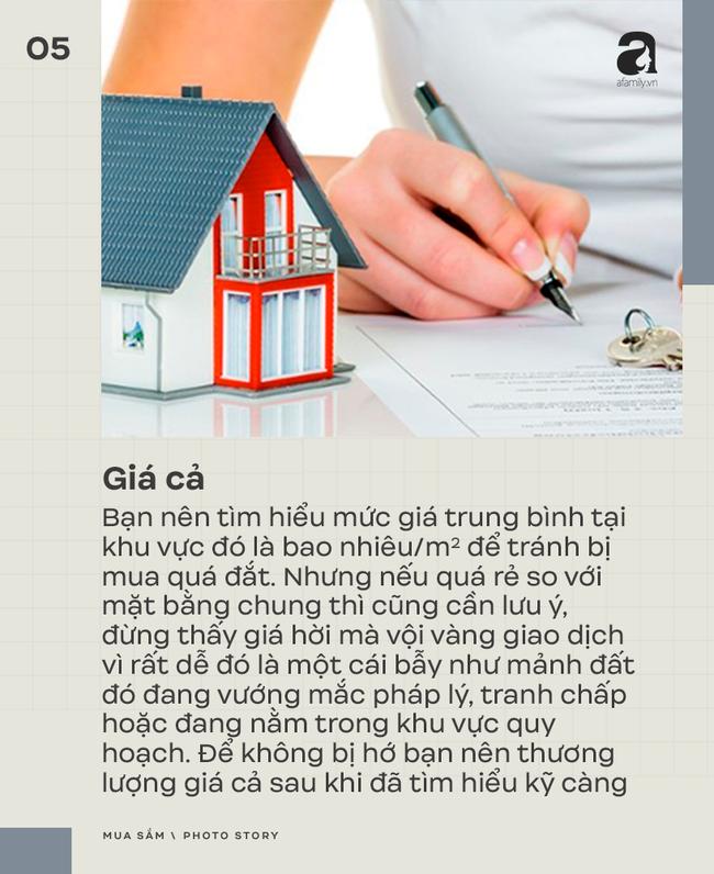 7 kinh nghiệm mua bán nhà đất bạn cần đặc biệt chú ý - Ảnh 5