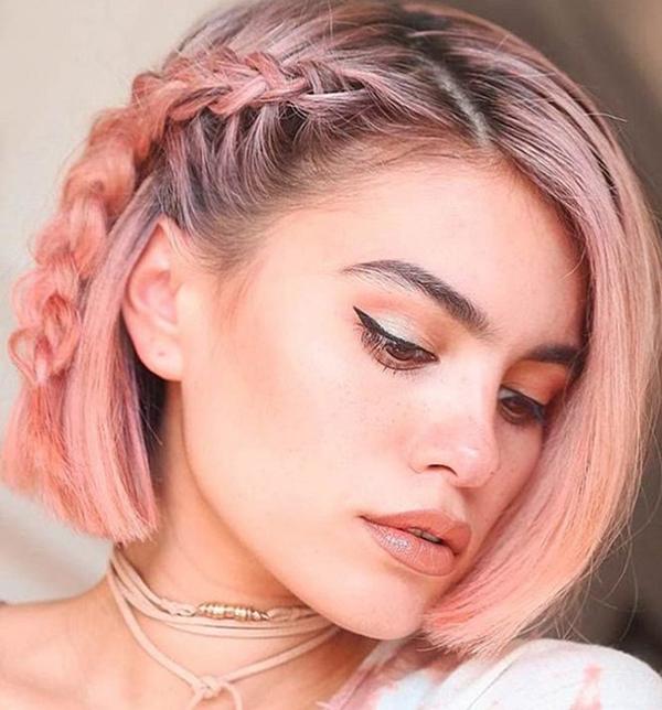 Tết tóc ngắn - 'đã mắt' với những kiểu siêu xinh khiến nàng 'rung rinh' - Ảnh 16