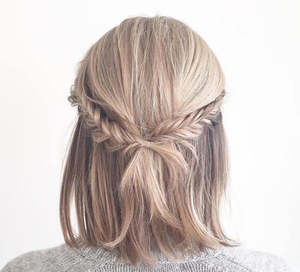 Tết tóc ngắn - 'đã mắt' với những kiểu siêu xinh khiến nàng 'rung rinh' - Ảnh 7