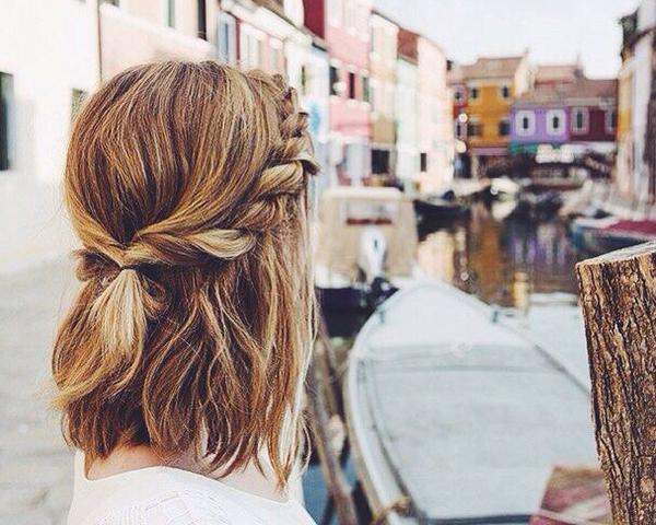 Tết tóc ngắn - 'đã mắt' với những kiểu siêu xinh khiến nàng 'rung rinh' - Ảnh 8