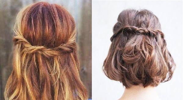 Tết tóc ngắn - 'đã mắt' với những kiểu siêu xinh khiến nàng 'rung rinh' - Ảnh 9