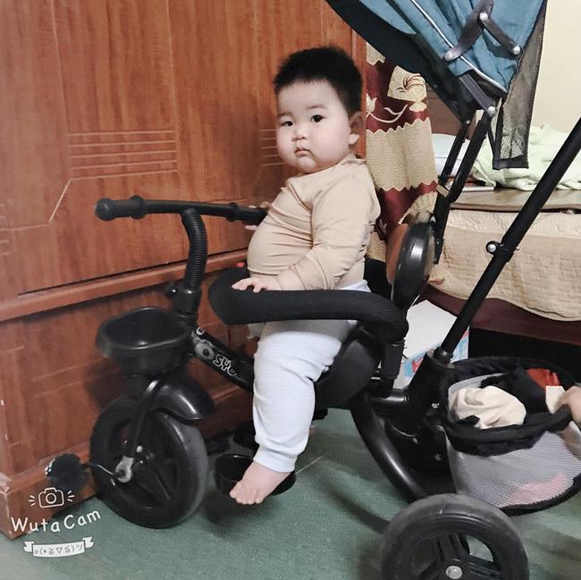 Con mới 9 tháng tuổi đã nặng 14kg, khi được hỏi bí quyết nuôi con, mẹ trẻ tiết lộ điều khó tin - Ảnh 1