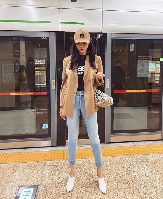 Mix áo khoác mùa thu như sao Việt - Ảnh 2
