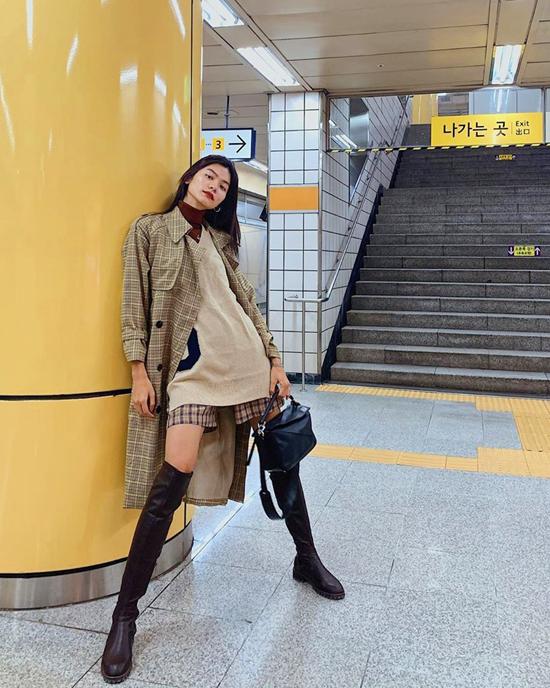 Mix áo khoác mùa thu như sao Việt - Ảnh 11