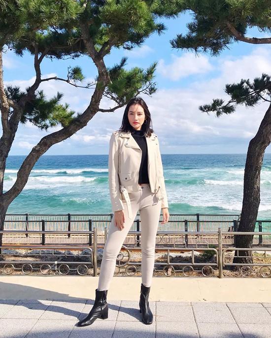 Mix áo khoác mùa thu như sao Việt - Ảnh 9