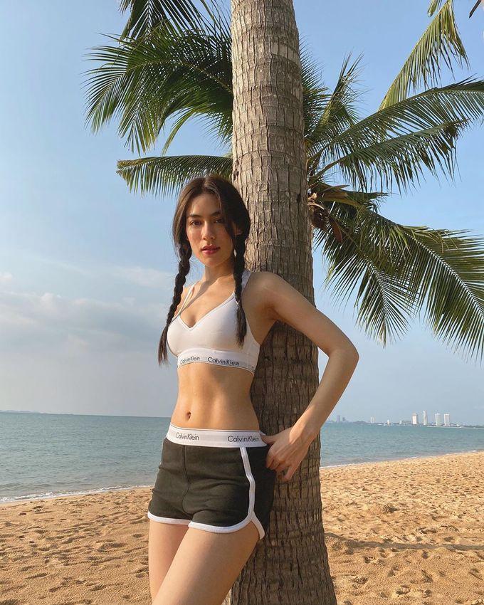 Mỹ nhân Thái giảm 20 kg không cần nhịn ăn - Ảnh 1