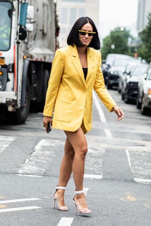 4 chiếc blazer giúp nữ công sở mặc đẹp cả năm - Ảnh 5