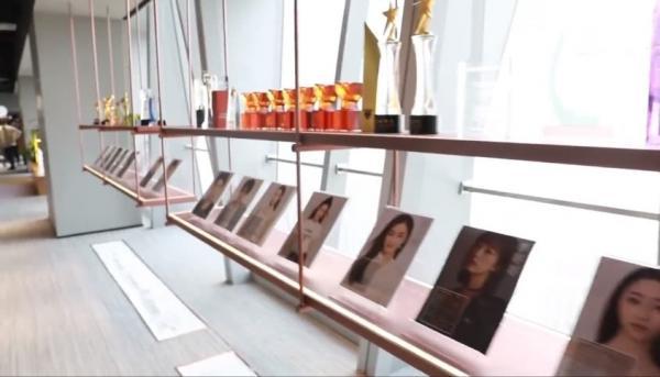 Dương Mịch lần đầu giới thiệu văn phòng, gây choáng với địa vị của Địch Lệ Nhiệt Ba trong công ty - Ảnh 5