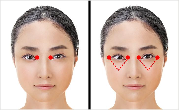Học người Nhật Bản mát xa vào các điểm này, nếp nhăn quanh mắt, vết chân chim mờ đi nhanh chóng giúp bạn trẻ ra cả chục tuổi - Ảnh 3