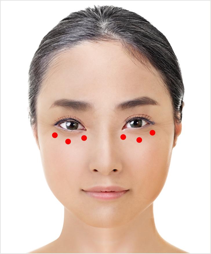 Học người Nhật Bản mát xa vào các điểm này, nếp nhăn quanh mắt, vết chân chim mờ đi nhanh chóng giúp bạn trẻ ra cả chục tuổi - Ảnh 5