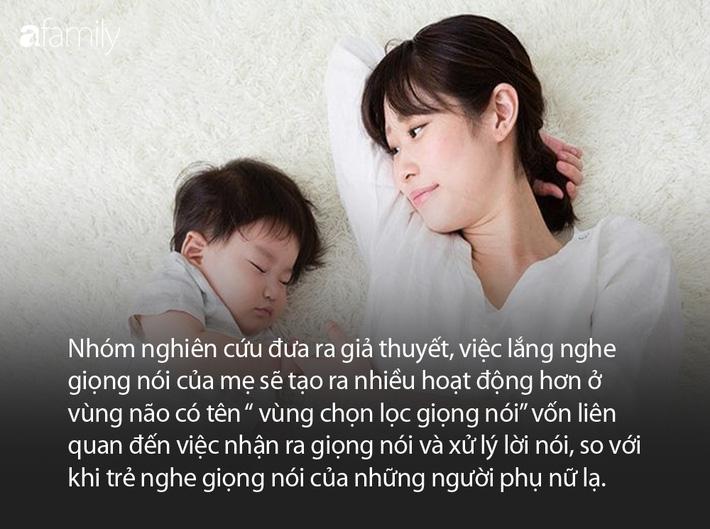 Biết được giọng nói của mình tác động đến não bộ của trẻ như thế này, các mẹ hẳn sẽ chăm nói chuyện với con nhiều hơn - Ảnh 3