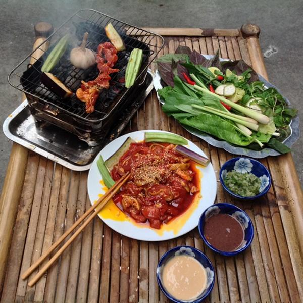 Làm dê nướng ngũ vị đặc sắc, hương vị khó quên - Ảnh 1