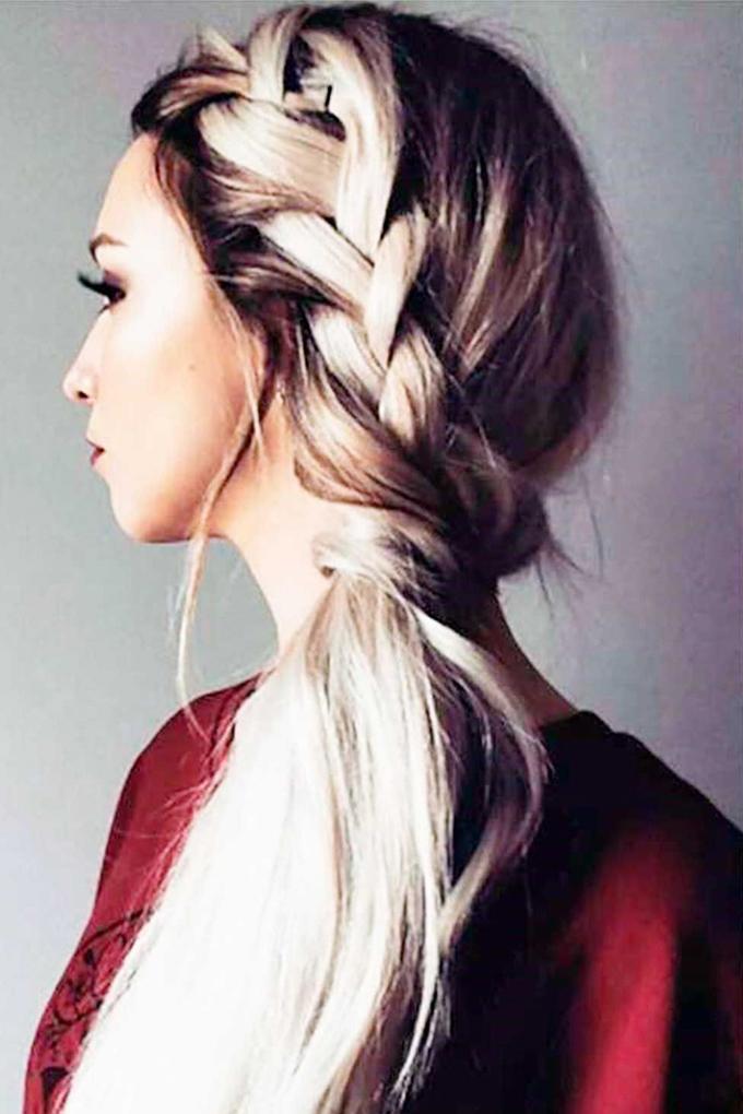 8 cách tạo kiểu đẹp cho nàng tóc dài trong ngày đầu năm mới - Ảnh 4