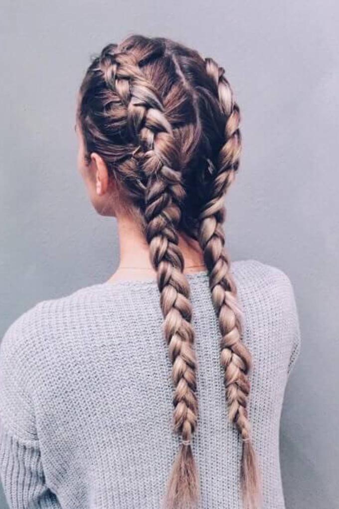 8 cách tạo kiểu đẹp cho nàng tóc dài trong ngày đầu năm mới - Ảnh 5