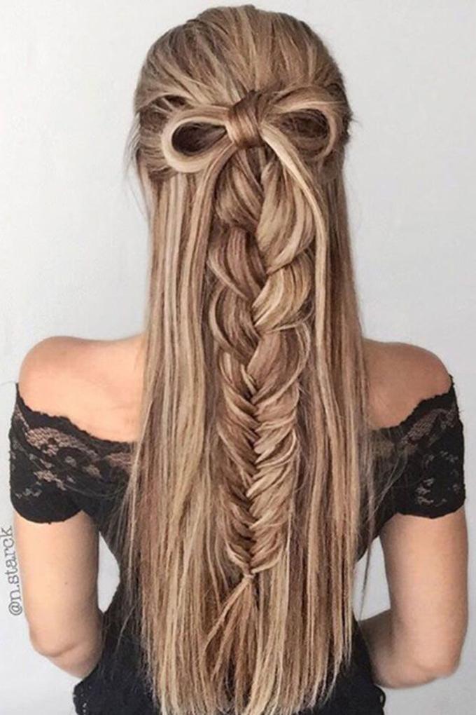 8 cách tạo kiểu đẹp cho nàng tóc dài trong ngày đầu năm mới - Ảnh 6