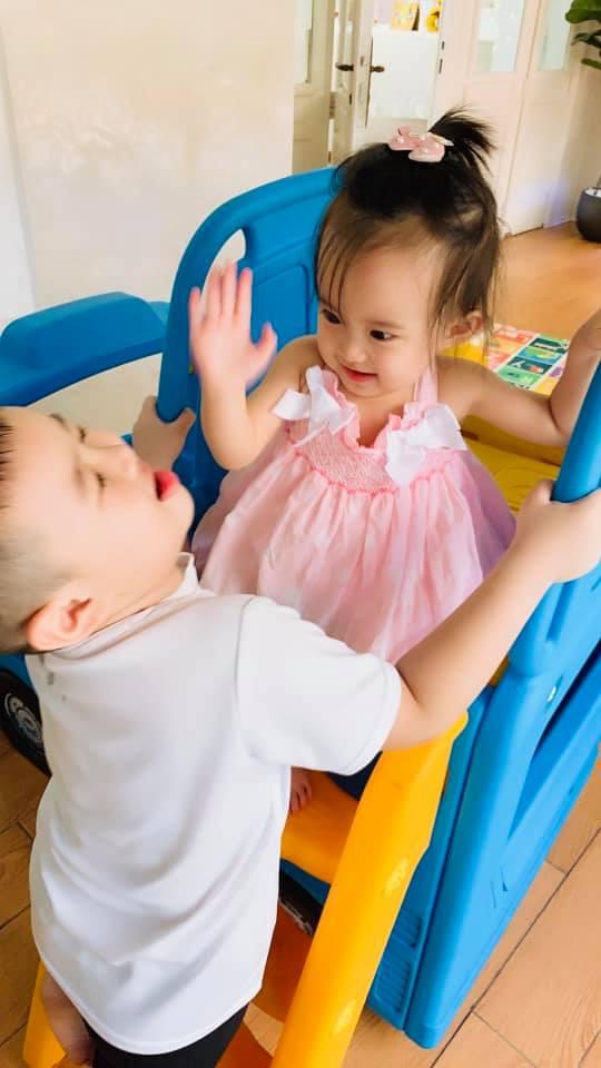 Vy Oanh kể chuyện Tết của hai con: 'Xém đánh nhau vì giành ông bà nội' - Ảnh 3