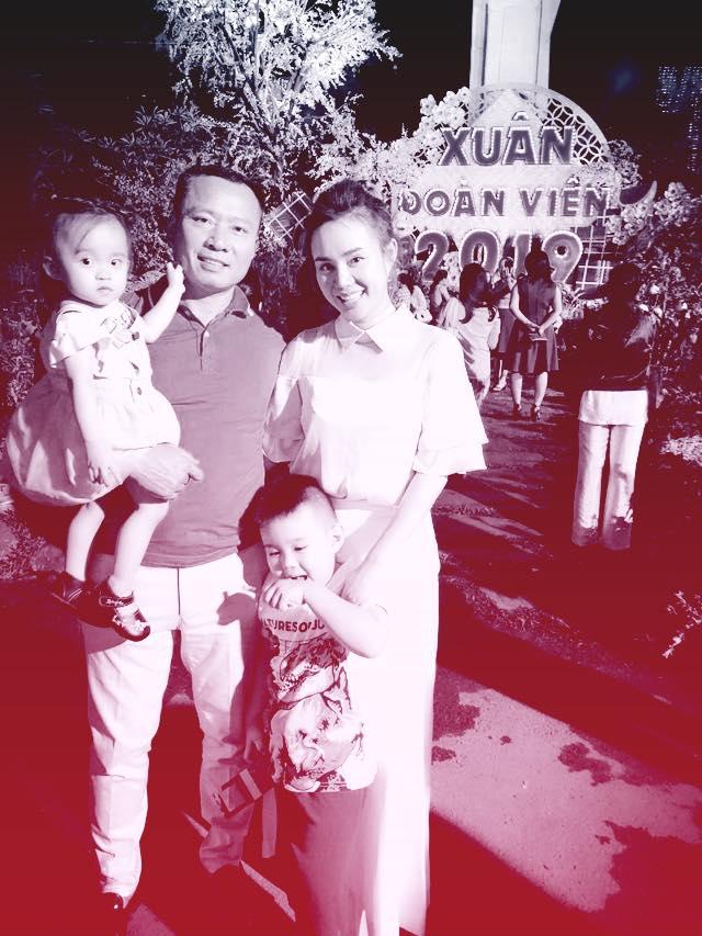 Vy Oanh kể chuyện Tết của hai con: 'Xém đánh nhau vì giành ông bà nội' - Ảnh 1