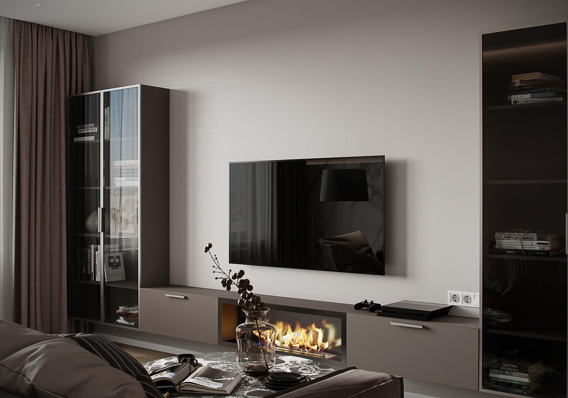 Tư vấn thiết kế căn hộ thô có diện tích 54m² với tổng chi phí 83 triệu đồng - Ảnh 3