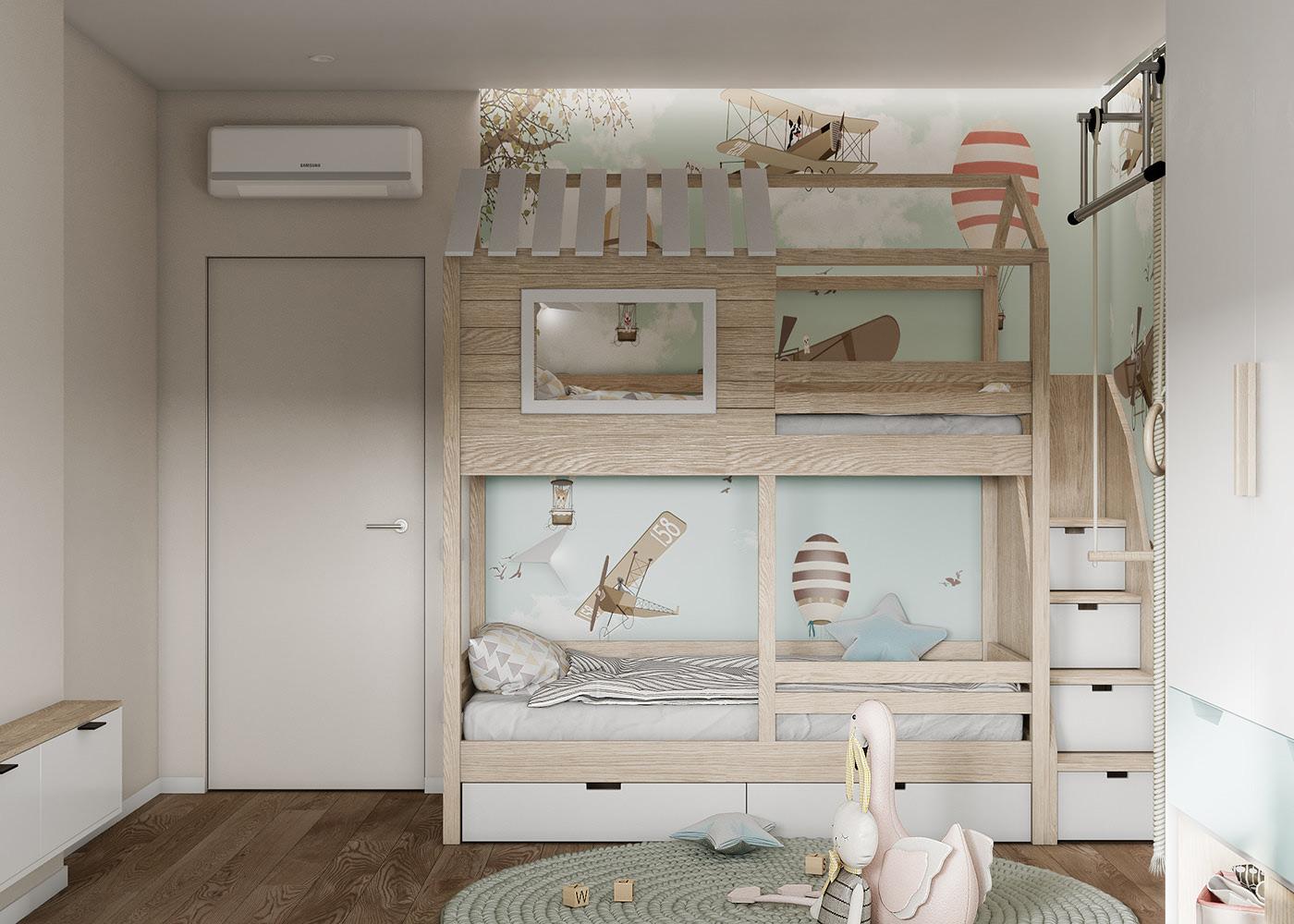 Tư vấn thiết kế căn hộ thô có diện tích 54m² với tổng chi phí 83 triệu đồng - Ảnh 8