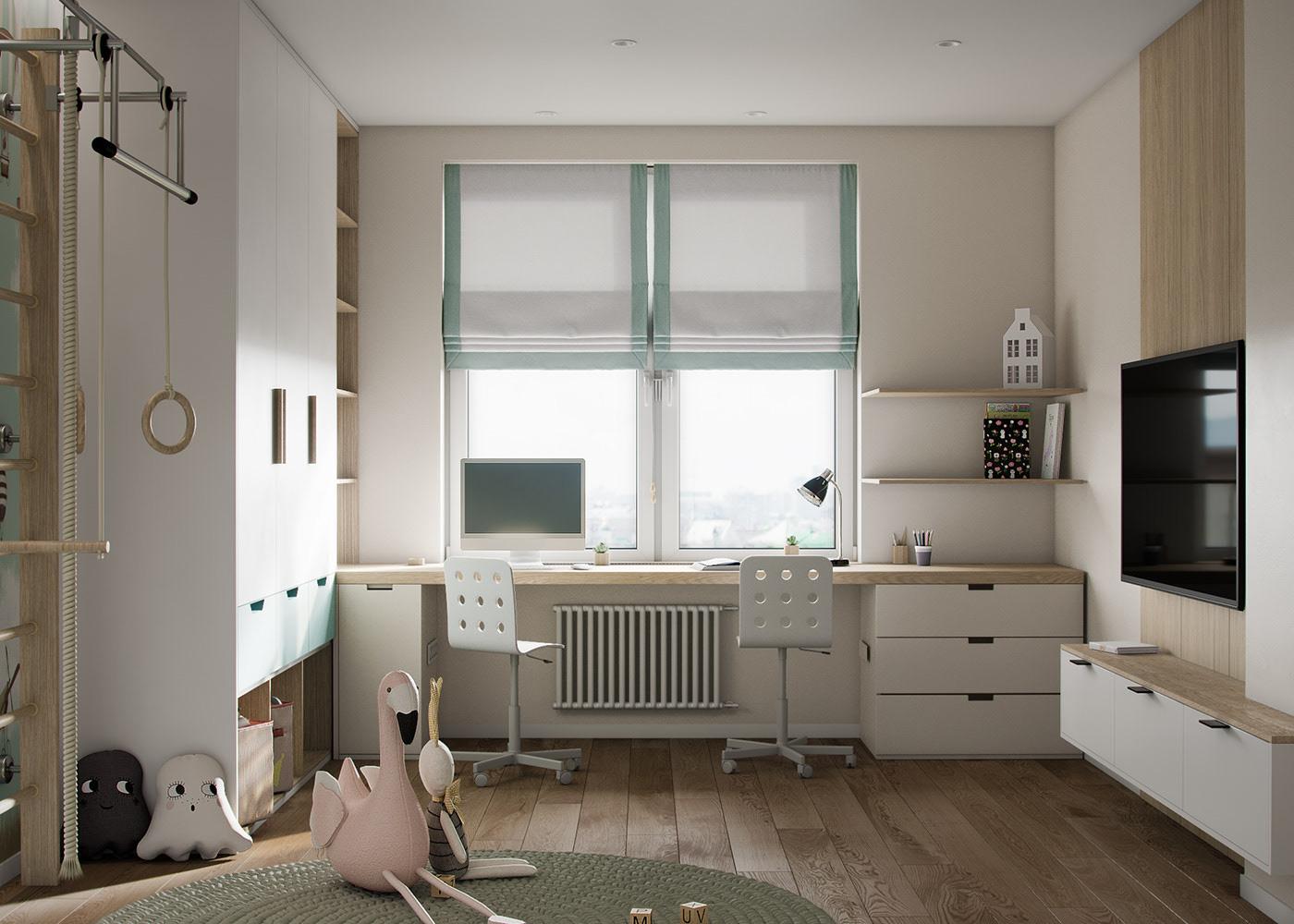 Tư vấn thiết kế căn hộ thô có diện tích 54m² với tổng chi phí 83 triệu đồng - Ảnh 9