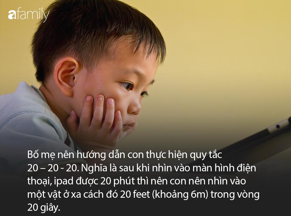 Để bảo vệ mắt khi phải học online nhiều, bố mẹ đừng quên dạy con quy tắc 20 - 20 - 20 cực đơn giản này - Ảnh 2
