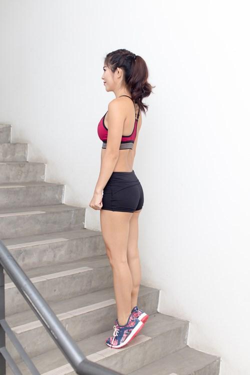 Bài tập với cầu thang giúp đánh tan mỡ bụng, trả lại vòng eo thon gọn bất ngờ - Ảnh 3