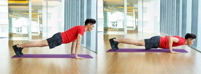 Mỡ bắp tay cũng chỉ là chuyện nhỏ nhờ những bài tập giảm béo cực đơn giản này tại nhà - Ảnh 3