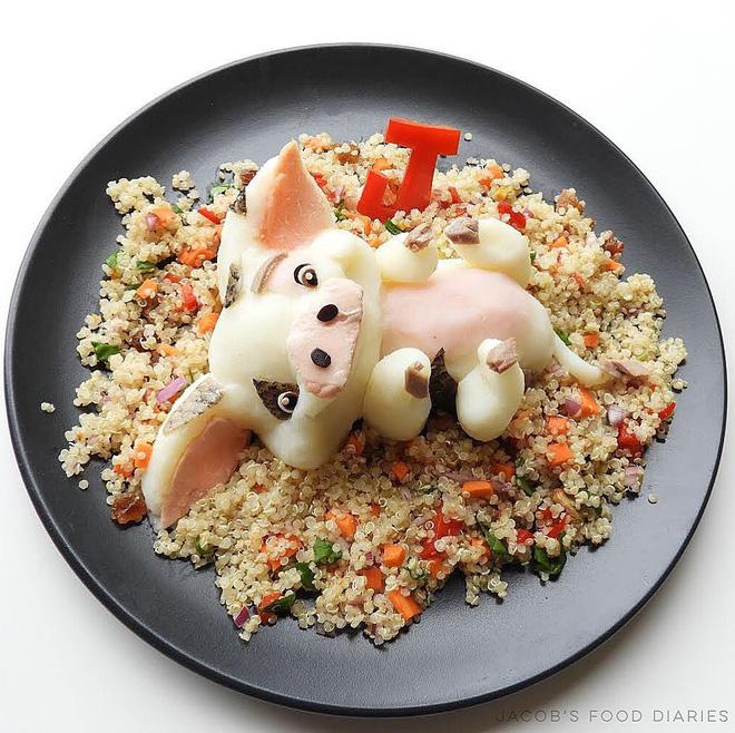 Những đĩa cơm ngộ nghĩnh đảm bảo lũ trẻ thích mê, giúp các mẹ biến việc cho con ăn không trở thành 'cuộc chiến' - Ảnh 5