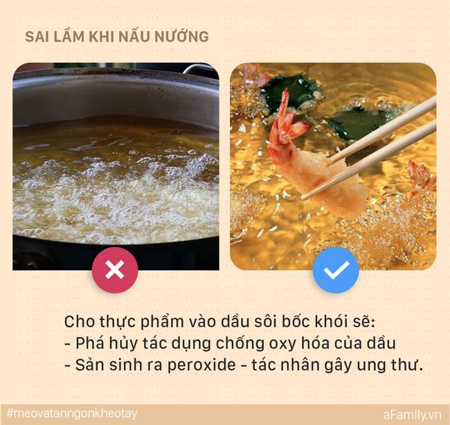5 sai lầm mẹ dễ mắc khi nấu ăn có thể khiến cả nhà bị ung thư, đến lúc biết thì e đã muộn - Ảnh 2