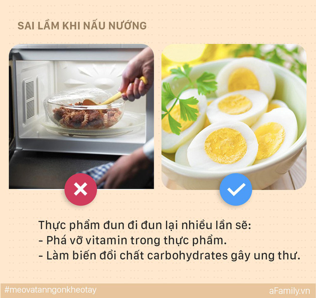 5 sai lầm mẹ dễ mắc khi nấu ăn có thể khiến cả nhà bị ung thư, đến lúc biết thì e đã muộn - Ảnh 4