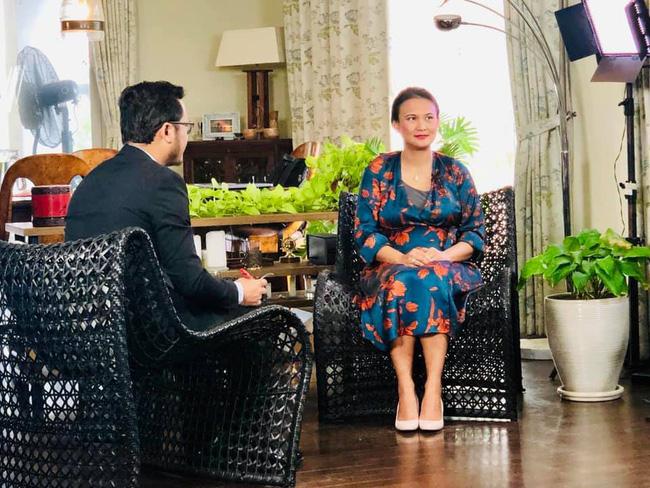 Vợ mới của chồng cũ Hồng Nhung lộ vòng 2 lớn bất thường sau 1 tháng tái hôn - Ảnh 2