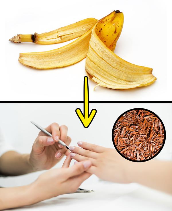8 mẹo làm đẹp hữu ích với vỏ chuối không nhiều người biết - Ảnh 4