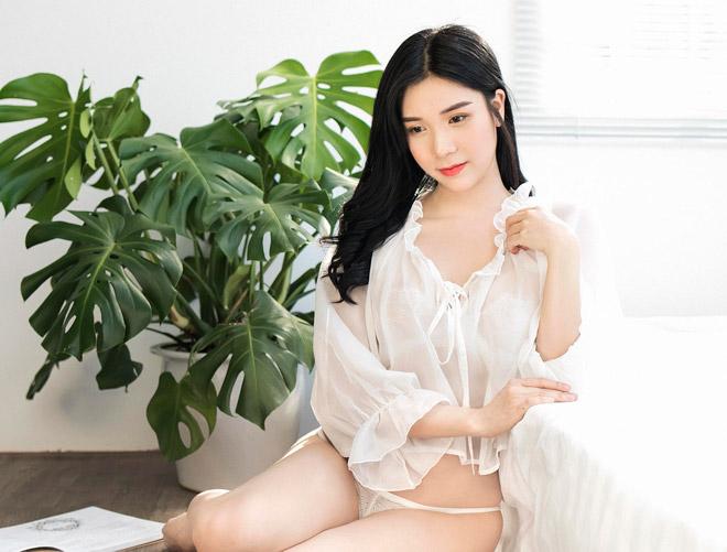Sau ảnh hở nửa bầu ngực, Thanh Bi lên tiếng về cảnh nóng với Việt Anh - Ảnh 4