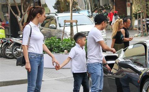 Lâu lắm Cường Đô la mới công khai quan tâm con trai Subeo, sốc với phản ứng của Đàm Thu Trang - Ảnh 3