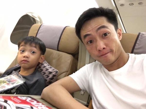 Lâu lắm Cường Đô la mới công khai quan tâm con trai Subeo, sốc với phản ứng của Đàm Thu Trang - Ảnh 4