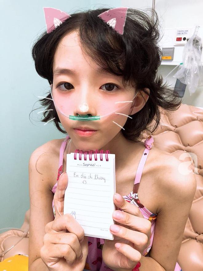 Mỹ Hiếu - cô gái xinh xắn phải cắt bỏ một chân vì ung thư xương đã mãi mãi ra đi ở tuổi 16 - Ảnh 6
