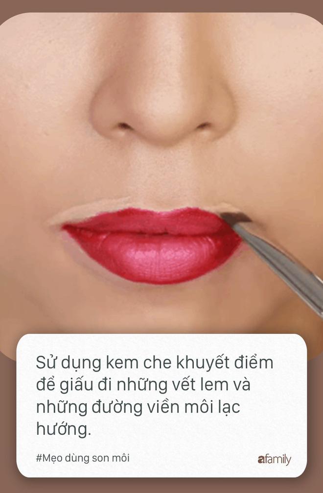 Ngày nào cũng dùng son môi mà không biết tới 11 mẹo này thì quả là đáng tiếc - Ảnh 7