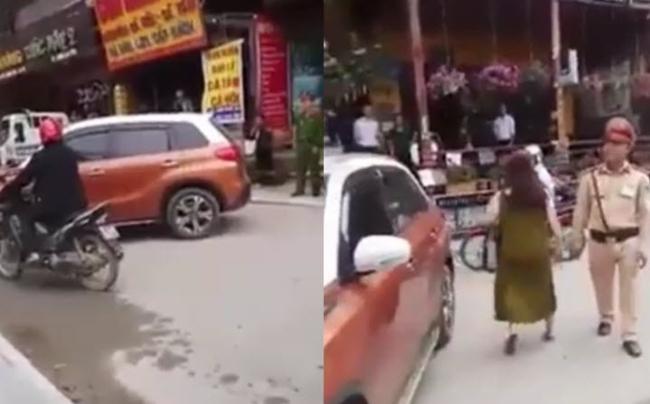 Nữ đại gia đỗ ô tô chắn ngang đường: Thà mất xe còn hơn để CSGT Sa Pa lộng hành?! - Ảnh 1