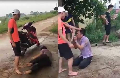 Nhân chứng kể lại vụ nam thanh niên vượt gần 40km rủ bà bầu đi nhà nghỉ bị 5 người hành hung từ quốc lộ đến tận đường làng - Ảnh 1