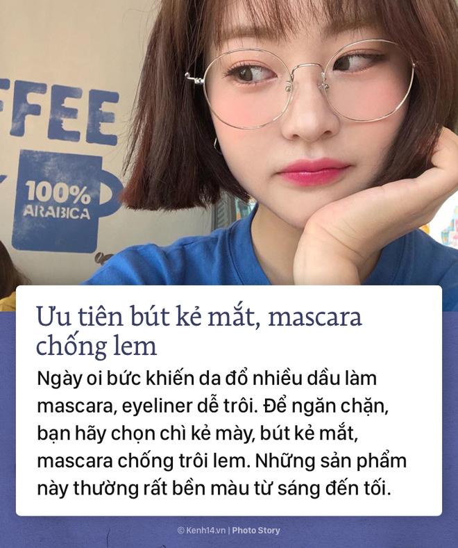 Mách nhỏ các nàng tuyệt chiêu make up giúp bảo toàn nhan sắc ngày nóng - Ảnh 3