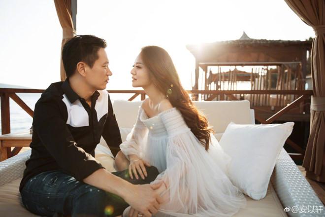 An Dĩ Hiên và chồng tỷ phú Trần Vinh Luyện