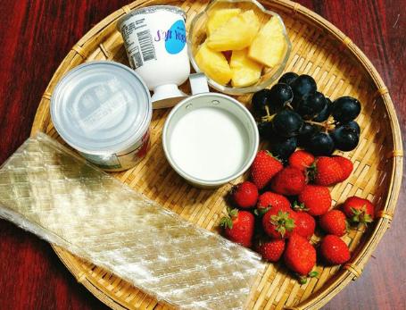 Cách làm sữa chua hoa quả cực ngon cho mùa hè mát lạnh - Ảnh 1