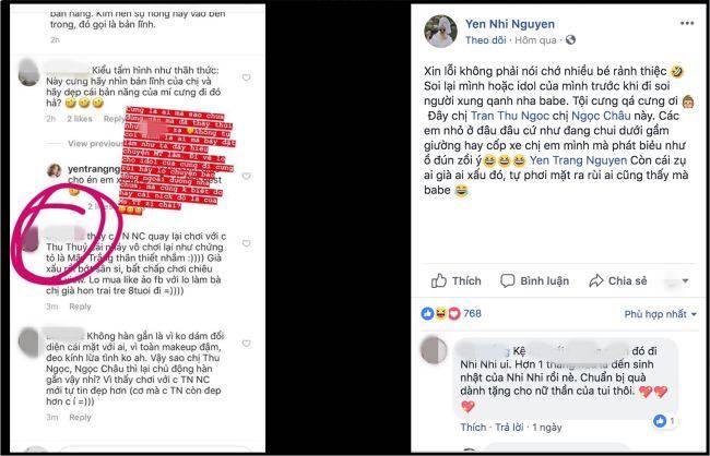 Em gái Yến Trang phản pháo giùm chị khi bị nói 'sân si' - Ảnh 2