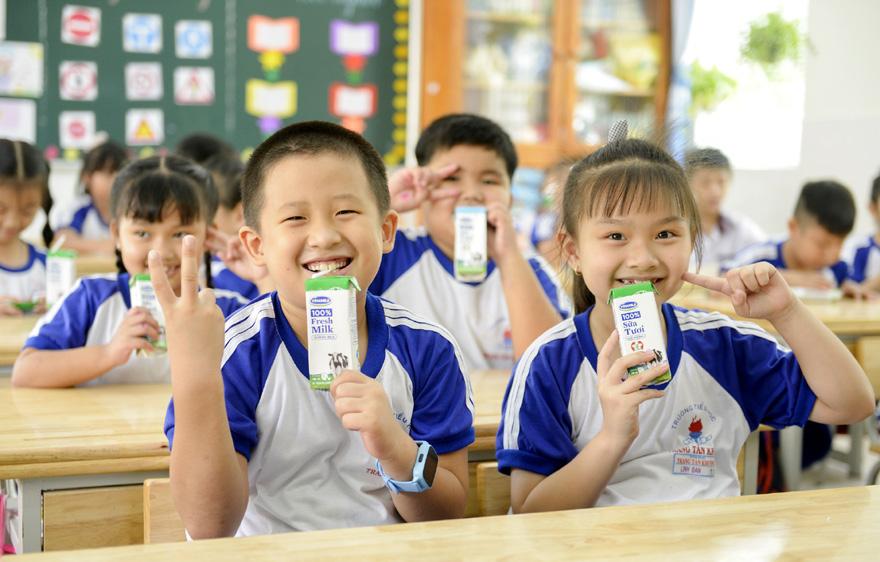 Sữa học đường TP. Hồ Chí Minh: Chương trình nhân văn đem lại nhiều niềm vui cho con trẻ - Ảnh 1