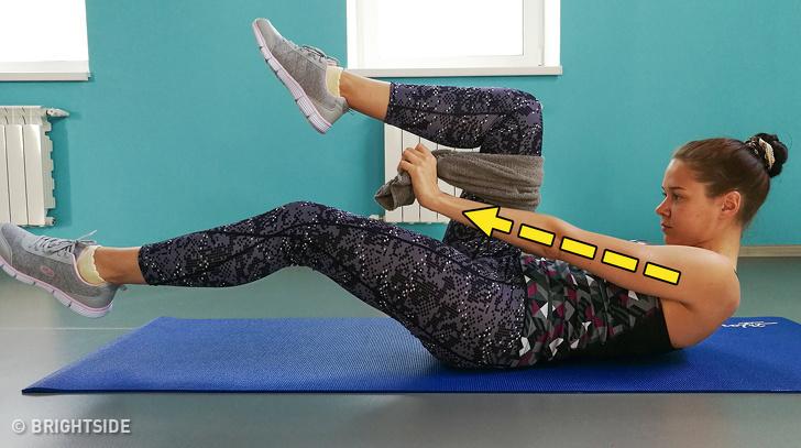 8 động tác giúp loại bỏ mỡ thừa vùng bụng sau sinh hiệu quả - Ảnh 7