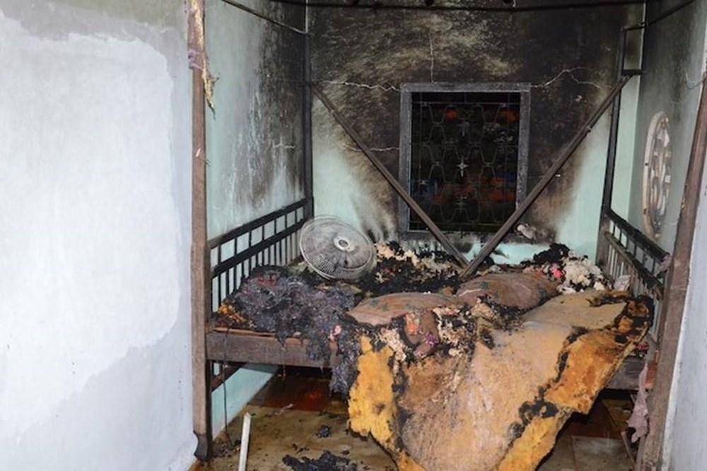 Chồng cầm dao đuổi chém vợ trong đêm, phóng hỏa đốt nhà khiến hai người thân của vợ chết cháy - Ảnh 2